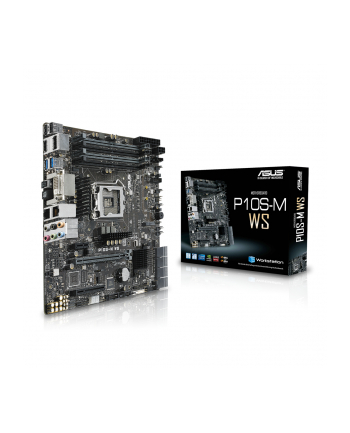 asus Płyta główna P10S-M WS s1151 4DDR4 HDMI/DVI/DP/M.2 uATX