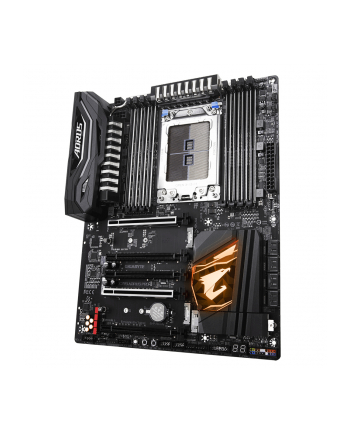 Gigabyte X399 AORUS PRO, TR4 X399, 8xDDR4 3600+,6xSATA 6Gb/s, USB-C