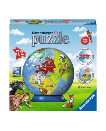 Puzzle 3D 72el Globus 118403 RAVENSBURGER
