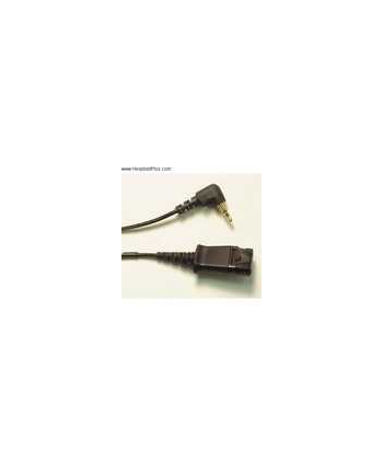 Plantronics Kabel QD 2,5mm z.B. Panasonic/Cisco SPA5xx/9xx 3m • 2,5mm Klinkenstecker auf QD-Buchse Spiralkabel 3m Länge für Panasonic Telefone z.B.. KX-T76xx und KX-TCA155/255, DeTeWe OpenPhone 27, Cisco SB VoIP SPA5xx und SPA9xx
