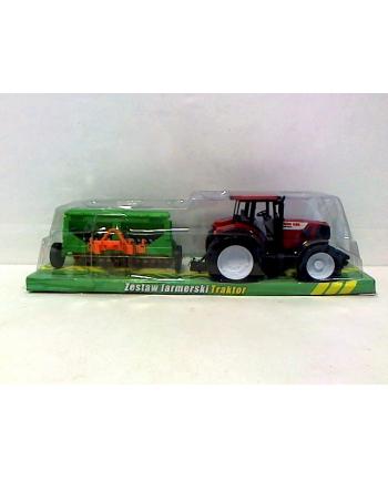 gazelo Traktor z maszyną rolniczą G030177