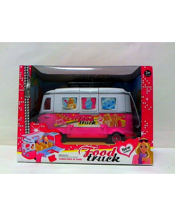 madej Bus dla lalki rozkładany z akcesoriami 87124