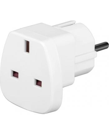 techly Adapter wtyku zasilania UK/EU 13A, UK/BS -CEE 7/7 biały