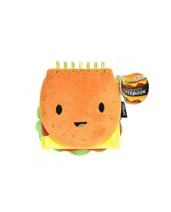symag Notatnik Pluszowy hamburger TOITOYS