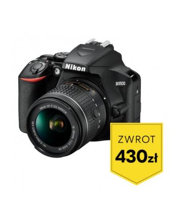 Aparat Nikon D3500 + AF-P 18-55 VR