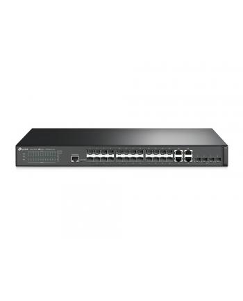tp-link Przełącznik zarządzalny T2600G-28SQ 24xSFP 4xSFP+ 4RJ45