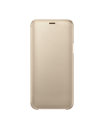 samsung Etui Wallet Cover J6 złote