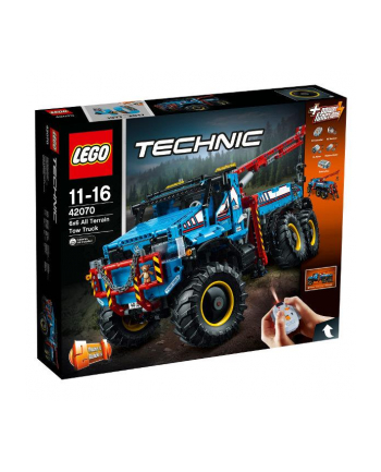 LEGO 42070 TECHNIC Terenowy holownik 6x6