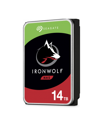 seagate Dysk IronWolf 14TB 3,5 ST14000VN0008