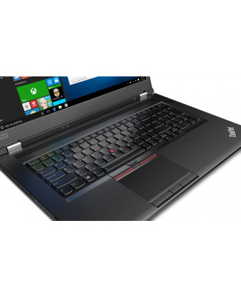 lenovo Notebook ThinkPad P72 20MB0011PB W10Pro E-2176M/8GB+8GB/512GB+1TB/P4200 8GB/17.3 UHD/3YRS OS