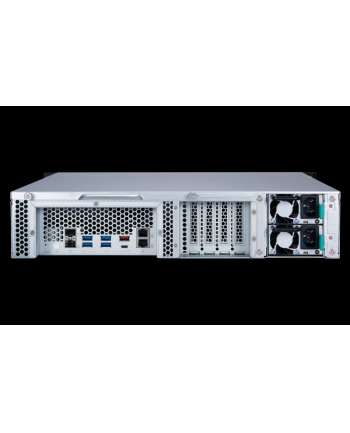 qnap Serwer NAS TS-877XU-RP-1200-4G 8x0HDD 4GB RAM/2x300W/AMD Ryzen