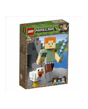 LEGO 21149 MINECRAFT Minecraft BigFig — Alex z kurczakiem p.8
