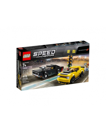 LEGO 75893 SPEED CHAMPIONS 2018 Dodge Challenger SRT Demon oraz 1970 Dodge Charger R/T p.3