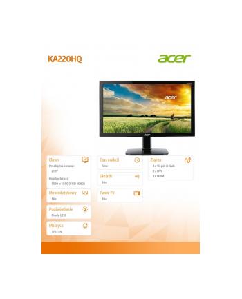 acer Monitor 21.5 KA220HQBID