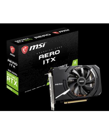 msi Karta graficzna GeForce RTX 2070 AERO ITX 8GB HDMI/3DP