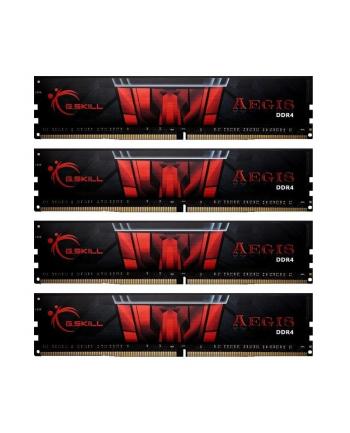 g.skill Pamięć RAM DDR4 64GB (4x16GB) Aegis 2400MHz CL15 XMP2