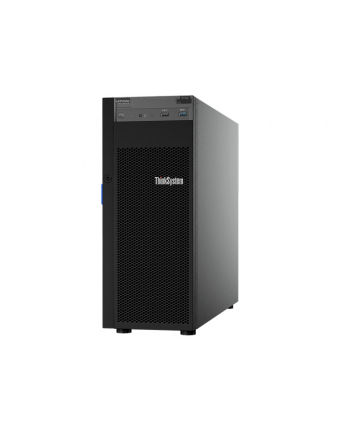 lenovo Serwer ThinkSystem ST250 Xeon E-2176G (6C 3.7 GHz /80W), 1x16GB, O/B, 2.5 HS (8), 530-8i, HS 550W, XCC Standard, DVD-RW, Security Door, 7Y45A00TEA