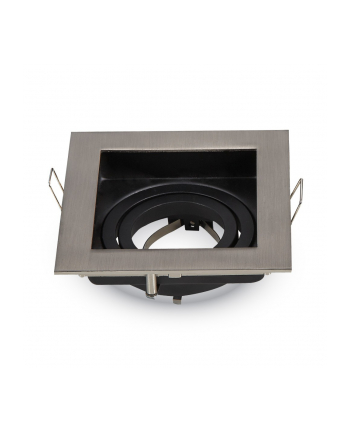 v-tac Oprawa LED VT-781SQ-SN GU10 aluminium