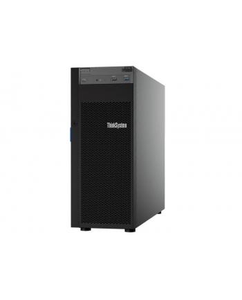 lenovo Serwer ThinkSystem ST250 Xeon E-2124 (4C 3.3 GHz 8MB Cache/71W), 1x16GB, O/B, 2.5  HS (8), SW RAID, HS 550W, XCC Standard, DVD-RW, 7Y45A010EA