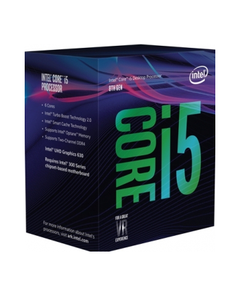 Procesor Intel Core i5-8400 i5-8400 BX80684I58400 (2800 MHz (min); 4000 MHz (max); LGA 1151; BOX)
