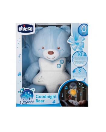 Chicco Miś na dobranoc niebieski