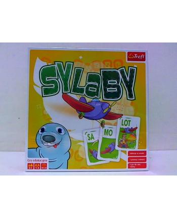 Gra Sylaby Duża Edukacja 01730 TREFL