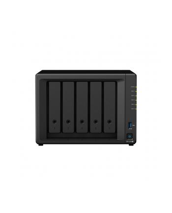synology Serwer NAS DS1019+ 5x0HDD Celeron 1,5Ghz eSATA 2xUSB3.0 2xRJ45 3Y