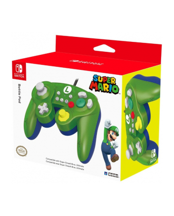 HORI SWITCH GameCube Style BattlePad - Luigi