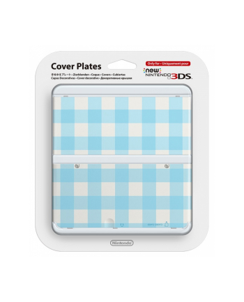 Nintendo New 3DS Cover Plate 13 (Blue Mix)