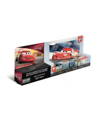 Fototapeta 12-panelowa Disney Cars 45378 243,84x304,80cm  p12 Walltastic