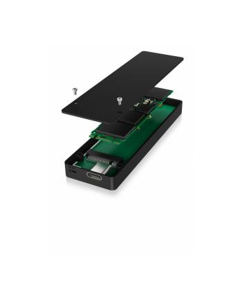 icybox Obudowa USB Type-C M.2 SATA SSD z zabezpieczeniem przed zapisem IB-1815WP