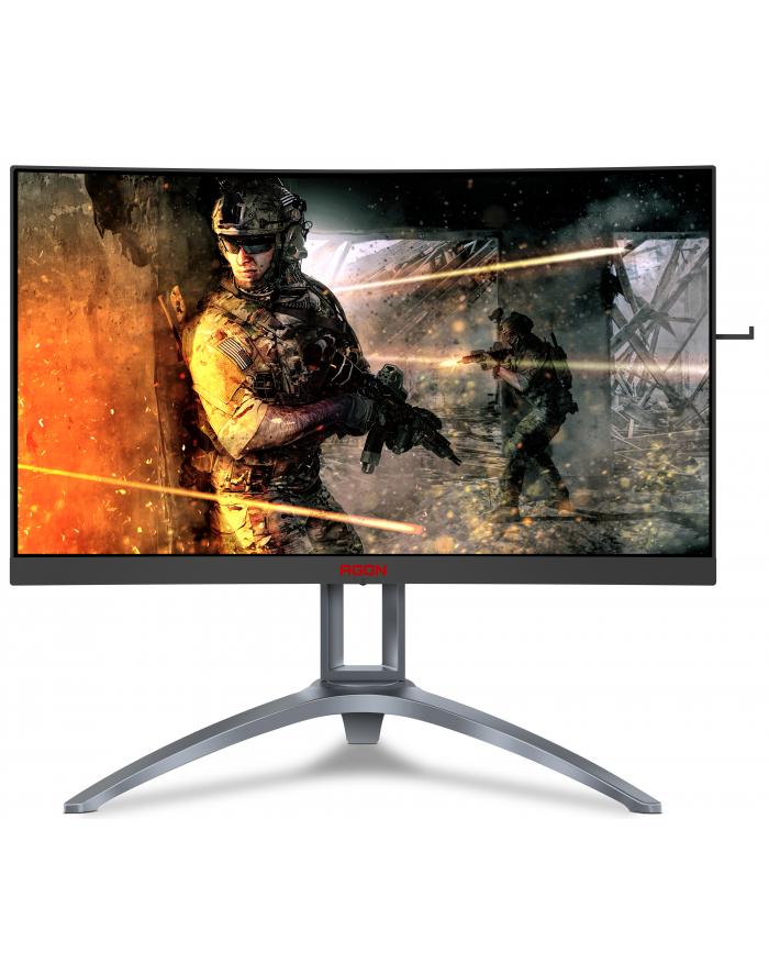 aoc Monitor 27 AG273QCX VA Curved HDMIx2 DPx2 Pivot główny