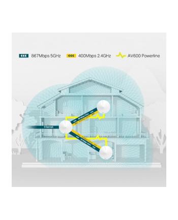 TP-Link Deco P7 AC1300 + AV600 Wireless Home Network Hybrid Complete Solution, Mesh Router - 3pack