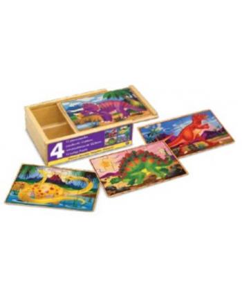 melissa & doug MELISSA Puzzle drewniane Dinozaury 4wz 13791