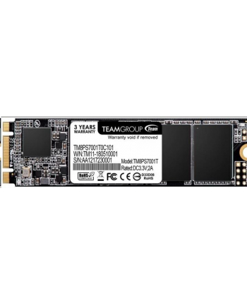 Team Group Dysk SSD MS30 512GB M.2 SATA3, 550/480 MB/s