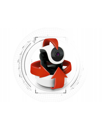 kgk trade Xblitz Kamera IP ISEE 2 - WiFi  - wewnętrzna