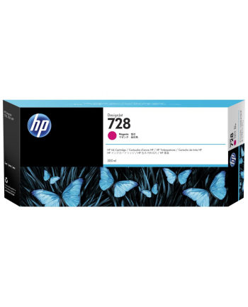 hp inc. Tusz nr 728 300ml Magenta F9K16A