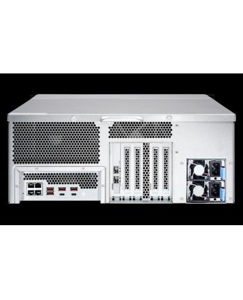 qnap 24-Bay NAS, Intel Xeon 4C 3,3GHz, 16GB RAM, 4x1GbE, 2x10Gb SFP+, 2x800W