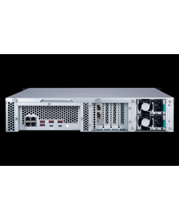 qnap 8-Bay NAS, Intel Xeon 4C 3,3GHz, 8GB RAM, 4x1GbE, 2x10Gb SFP+, 1x350W