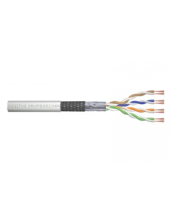 Kabel SF/UTP kat.5E linka Digitus Network AWG26/7  r. 100m