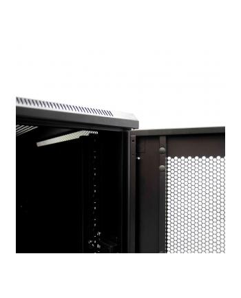 Netrack szafa serwerowa stojąca 32U/600x1000mm (drzwi perforowane)czarny ZŁOŻONA