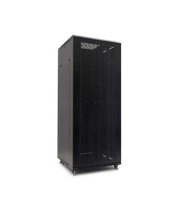Netrack szafa serwerowa stojąca 42U/800x800mm (drzwi perforowane)-czarny ZŁOŻONA