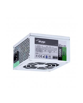 Akyga SFX Power Supply 300W AK-S1-300 P4 2x SATA 2x Molex PFC FAN 8cm