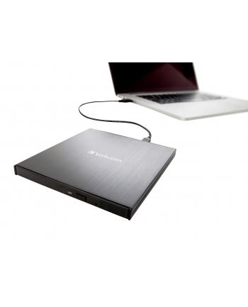 Verbatim External Slimline Blu-ray Writer USB 3.1 GEN 1 with USB-C Connection