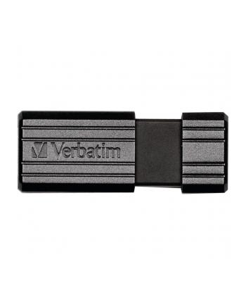 Flashdrive Verbatim PinStripe 128GB black