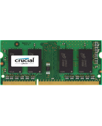 Crucial 4GB DDR3L 1600 MT/s (PC3-12800) CL11 SODIMM 204pin 1.35V/1.5V for Mac