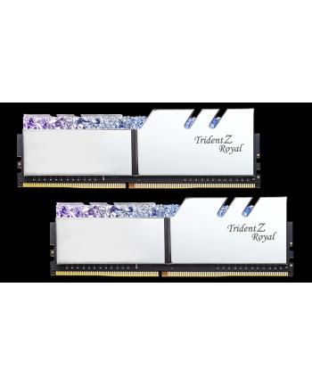 G.Skill Trident Z Royal Pamięc DDR4 32GB (2x16GB) 3000MHz CL16 1.35V XMP Srebrna