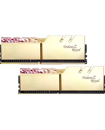 G.Skill Trident Z Royal Pamięć DDR4 16GB (2x8GB) 3200MHz CL16 1.35V XMP Złota