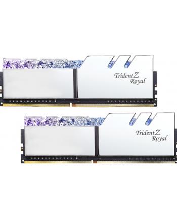 G.Skill Trident Z Royal Pamięć DDR4 16GB (2x8GB) 3200MHz CL16 1.35V XMP Srebrna