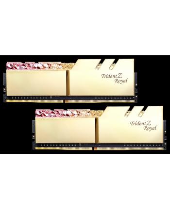 G.Skill Trident Z Royal Pamięć DDR4 16GB (2x8GB) 3600MHz CL17 1.35V XMP Złota